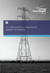 Innovation Learnings - Energy Storage