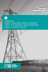 Targeting new and cleaner uses for wastes and biomass using gasification